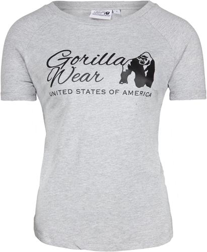 Gorilla Wear Lodi T-shirt  - Lichtgrijs