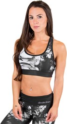 Gorilla Wear Phoenix Sports Bra - Black/White