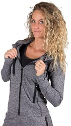 Gorilla Wear Shawnee Zipped Hoodie - Mixed Gray