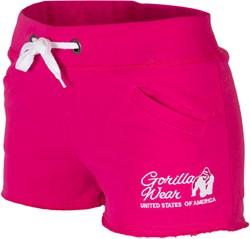 Gorilla Wear Womens New Jersey Sweat Shorts Pink
