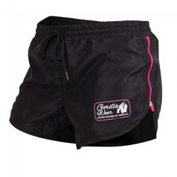 Gorilla Wear Women's New Mexico Cardio Shorts Black/Pink