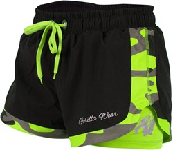 Gorilla Wear Denver Shorts Black/Neon Lime