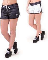 Gorilla Wear Madison Reversible Shorts - Black/White