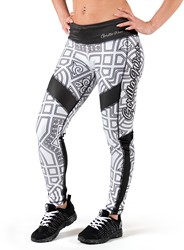 Gorilla Wear Pueblo Tights - Black/White