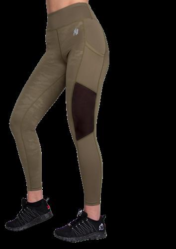 Gorilla Wear Savannah Mesh Legging - Legergroen Camo