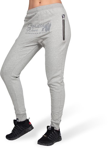 Gorilla Wear Celina Drop Crotch Joggingbroek - Grijs
