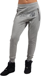 Gorilla Wear Celina Drop Crotch Joggers - Gray