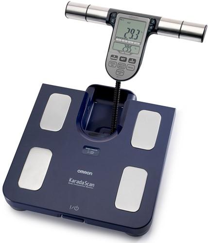 Omron BF511 Lichaamscompositiemeter - Blauw