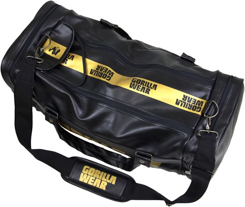 Gorilla Wear Gym bag gold-2