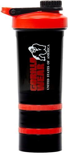 Gorilla Wear Shaker 2 GO - Zwart/Rood