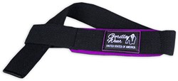 Gorilla Wear Womens Padded Lifting Straps Black/Purple