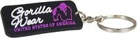 Gorilla Wear Rubber Women Logo Keychain