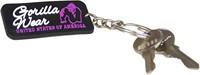 Gorilla Wear Rubber Women Logo Keychain-2