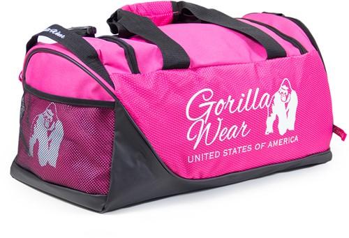 Gorilla Wear Santa Rosa Gym Bag - Pink/Black-2