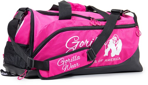 Gorilla Wear Santa Rosa Gym Bag - Pink/Black-3