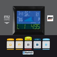 BH fitness i.arctic hometrainer monitor 2