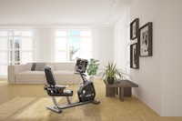 recumbent bike in home