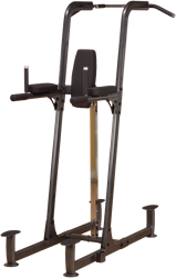 Body-Solid Fusion Powertower - Vertical Knee Raise, Dip, Pull Up