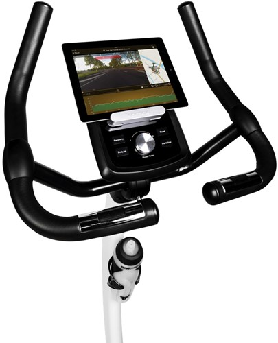 Flow Fitness DHT250i UP hometrainer computer met iPad