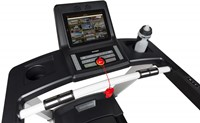 Flow Fitness DTM2000i loopband display tablet