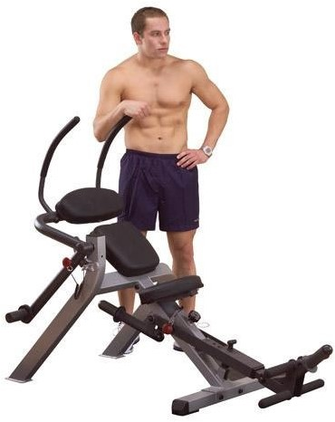 Body-Solid Semi-Recumbent Ab Bench-2