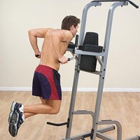 Body-Solid Vertical Knee Raise, Dip, Pull up-3
