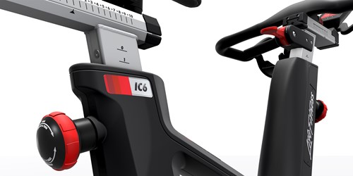 Life Fitness ICG IC6 spinbike frame zijkant