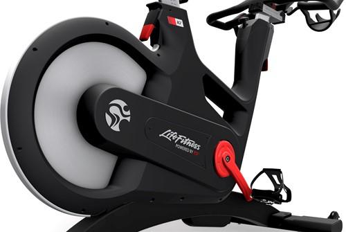 Life Fitness ICG IC7 zijkant vliegwiel