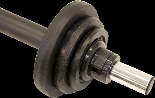 Body Pump Set met rubberen schijven 20 kg-2