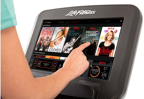 Life Fitness platinum Discover SE3 Loopband netflix