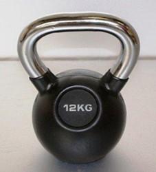 Kettlebell 12 kg rubber