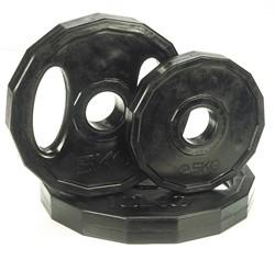 Rubber schijven 5 kg (50 mm)