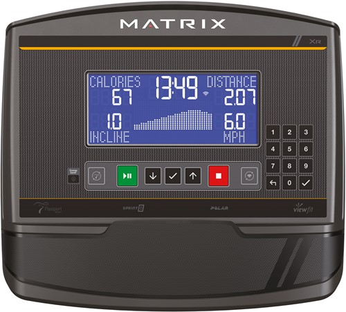 Matrix E50 Crosstrainer XR Console