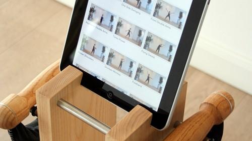 Nohrd swing bell tower met iPad