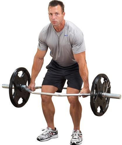 Body-Solid Olympic Shrug Bar-3