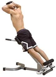 Body-Solid 45 graden Back Hyperextension