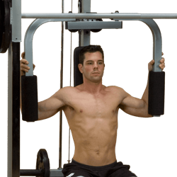 Body-Solid (Powerline) Pec/Dec Uitbreiding
