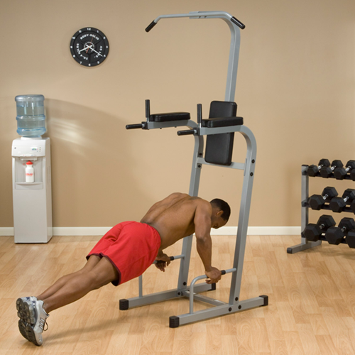 Body-Solid Vertical Knee Raise Chin Dip-2