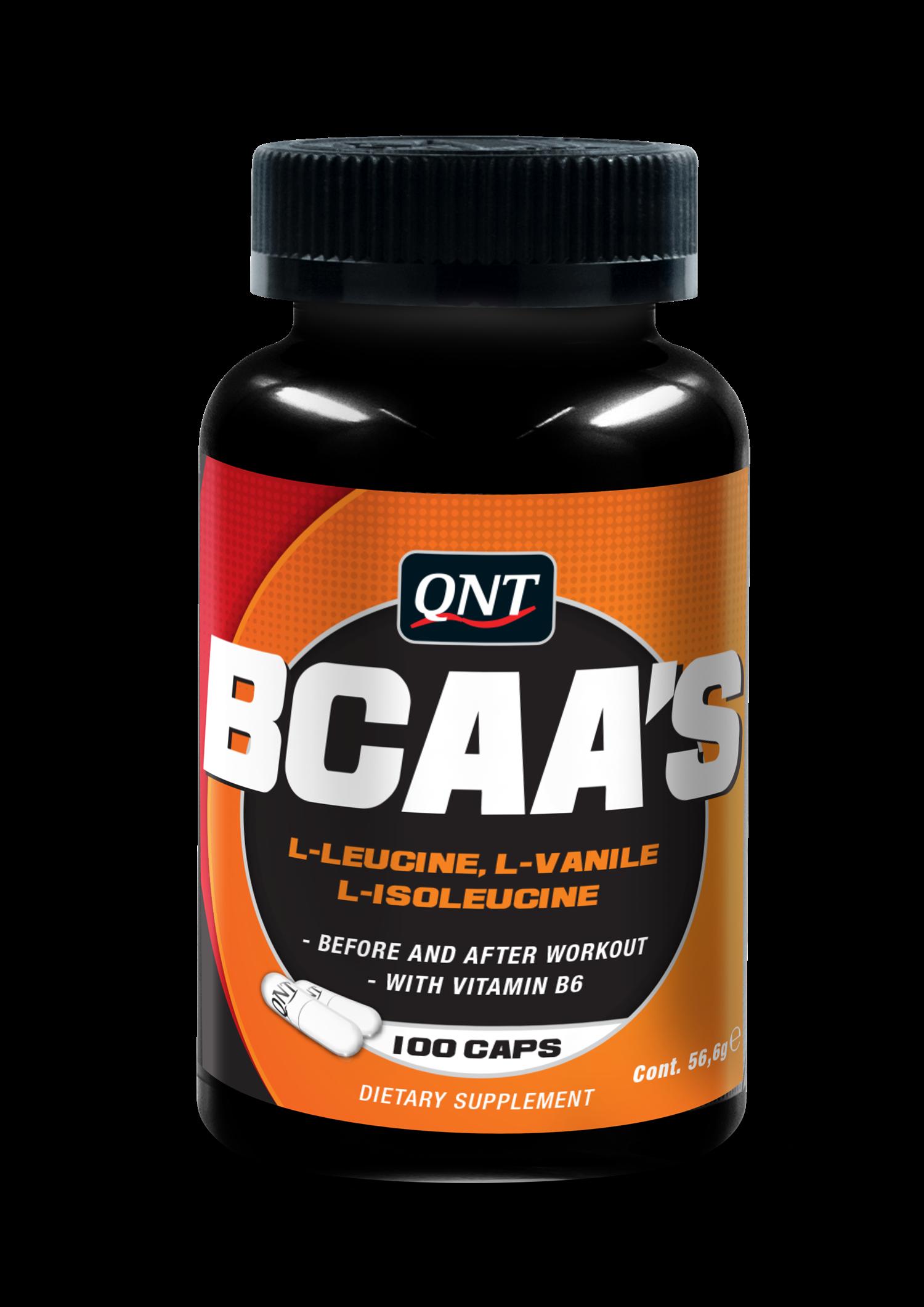 QNT BCAA's + Vitamine B6 - 100 caps