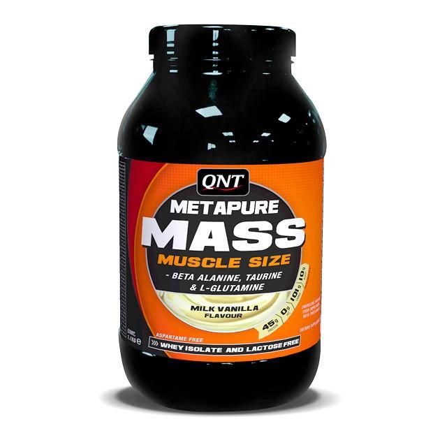 QNT Metapure Mass - 1100g - Vanille
