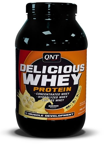 QNT Delicious Whey Protein - 908G - Cookies and cream