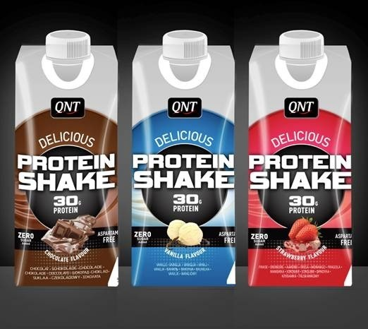 QNT Delicious Whey Protein Shake - Strawberry