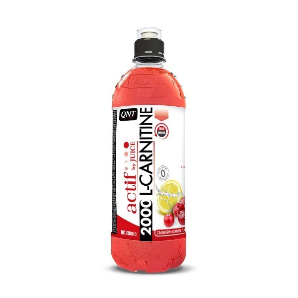 QNT L-Carnitine - 2000mg - 24x700ml - Cranberry/Lemon