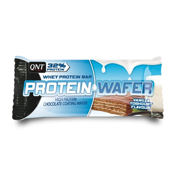 QNT Protein Wafer - 12x35g - Chocolade