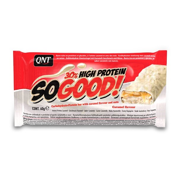QNT So Good Bar - 15x60g - Witte Chocolade&Karamel