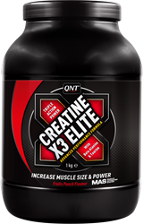QNT Creatine X3 Elite - 1000g - Red Fruits