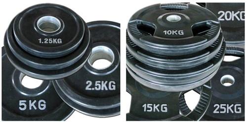 Olympische halterset 50 mm 100 KG-2