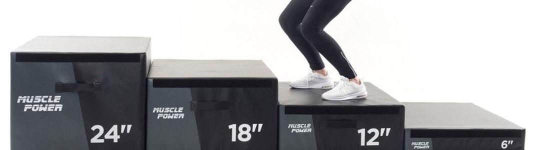 Trainen met een Plyo Box