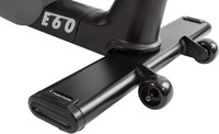 Tunturi Performance E60 hometrainer transportwielen