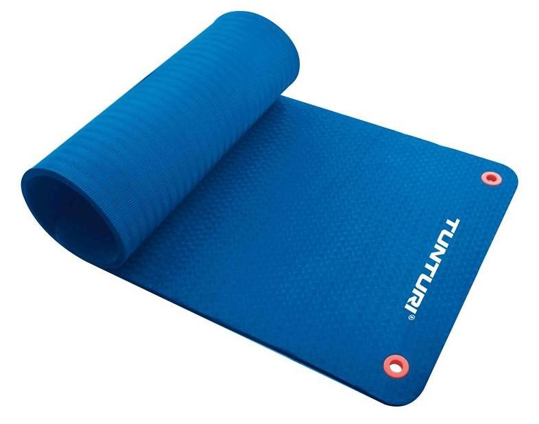 Tunturi Fitnessmat Pro 180 X 60 Cm Blauw Fitwinkel Nl